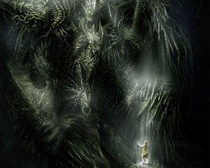 Обои «страшный дом» (ночь луна дом) для рабочего стола кошмары.