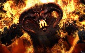 Бог против дьявола скачать картинку бесплатно на смартфон, планшет.