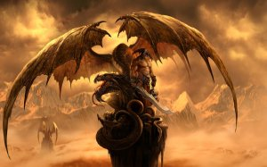 Рыцарь с драконом загрузить